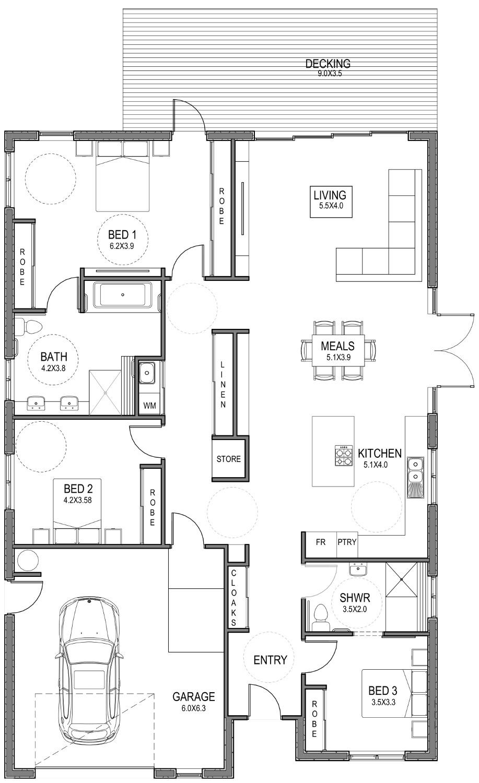 IADAPT Passive Floorplan