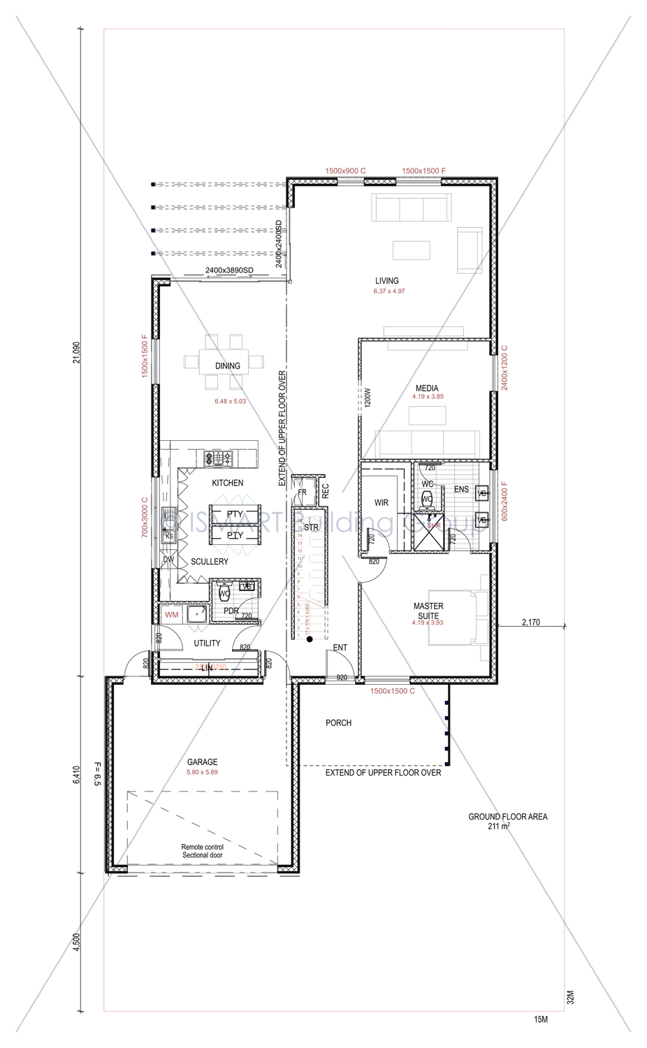 ISERENITY Eco Friendly Floorplan